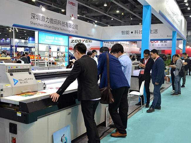 the DPES exhibition in Guangzhou